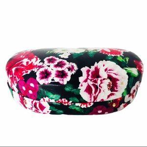BETSEY JOHNSON sunglasses case. Flower print  🕶